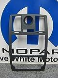 05-07 CHRYSLER 300 GPS NAV DASH RADIO BEZEL MOPAR BLK