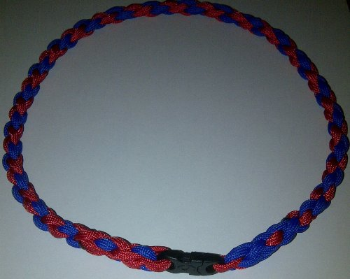 Paracord Twisted Sports Necklace (Medium (20 inches))