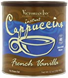 Victorian Inn Instant Cappuccino, French Vanilla, 32-Ounce Canisters (Pack of 3)