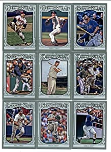 2013 Topps Gypsy Queen Atlanta Braves Baseball Cards Team Set (16 Cards in Protective... by Gypsy+Queen