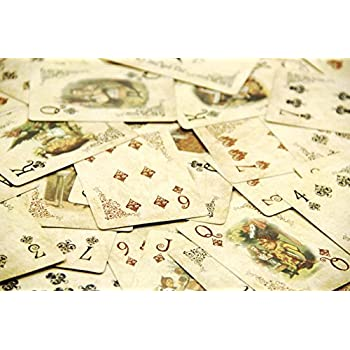 ASVP Shop® Alice In Wonderland Playing Cards Party Props Decoration Theme Full Set