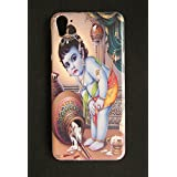 Newtronics Fashion Designer Lord Krishna Hard Back Cover Case For HTC Desire 826