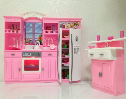 Barbie Size Dollhouse Furniture My Fancy Life Kitchen Play Set 6903514240167