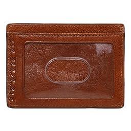 Boconi Rinaldo Weekender ID Card Case (Ginger Root)