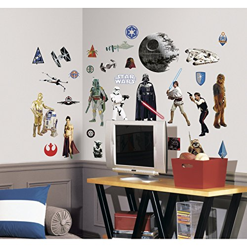 Star Wars Classic Peel & Stick  Decals