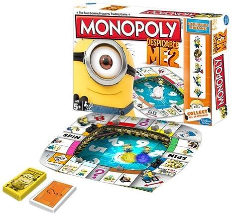Hasbro - A25741010 - Jeu de Plateau - Monopoly Moi Moche et Méchant 2