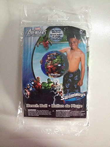 Swimways Marvel Avengers Assemble Beach Ball