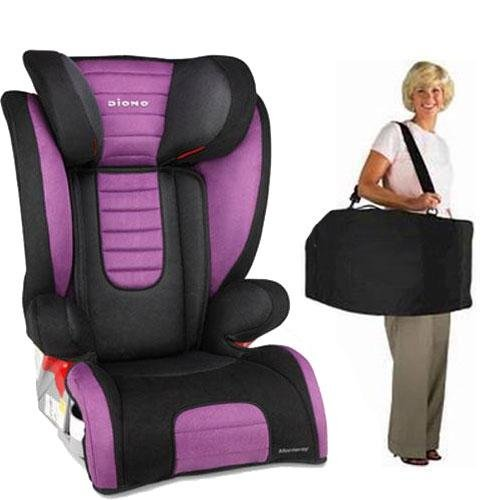 Diono Monterey Booster Seat with Free Carrying Case - Purple