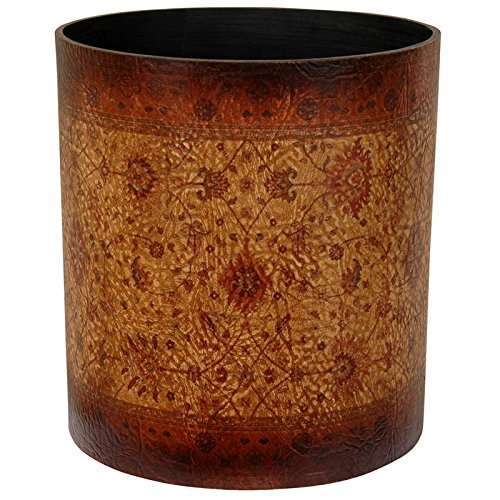 Oriental Furniture Olde-Worlde Baroque Waste Basket 0