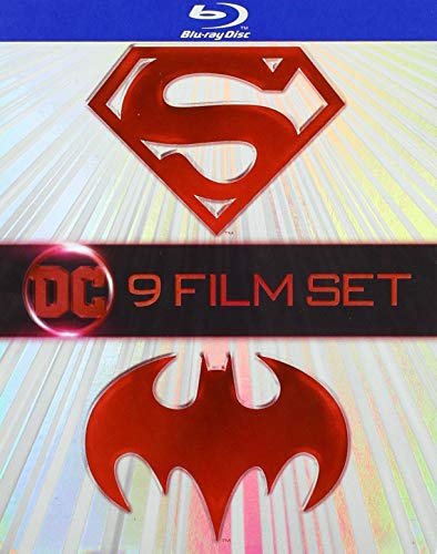 Blu-ray : Batman & Superman (9-film Set) (9 Discos)