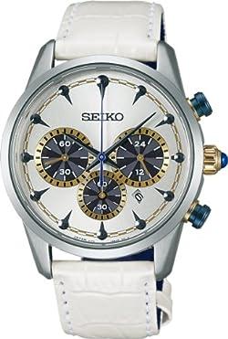 [セイコーウォッチ]SEIKO WATCH 腕時計 SPIRIT SMART スピリットスマート ジョジョの奇妙な冒険コラボレーション限定モデル BUCCELLATI ソーラー サファイアガラス 日常生活用強化防水 (10気圧) 【数量限定】 SBPY101 メンズ