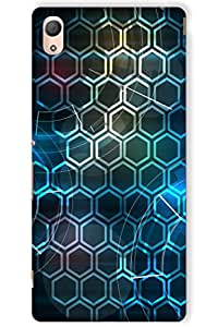 IndiaRangDe Hard Back Cover FOR Sony Xperia Z4