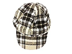 TakeInCart Anker & Beret Snapback Caps (Black & Brown)