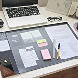 Vintage Designed Desk Mat Ver. 02 - Gray