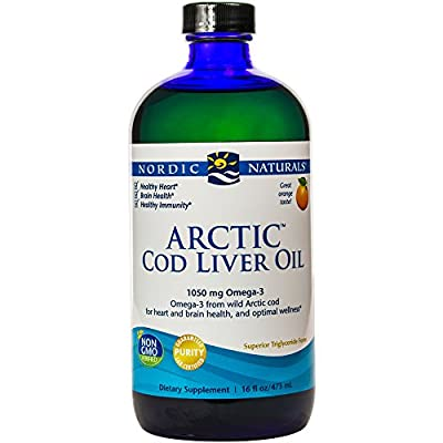 Nordic Naturals - Arctic CLO - Heart and Brain Health, and Optimal Wellness - 16 oz.