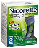 Nicorette Mini Lozenge (2 mg)  81-Count Package