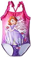 Disney Little Girls'  Sofia 1 Piece Swimsuit
