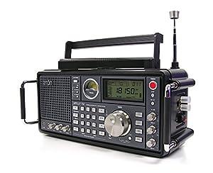Eton Grundig Satellit 750 Ultimate AM/FM Stereo also Receives Shortwave, Longwave and Aircraft Bands - Black (NGSAT750B)