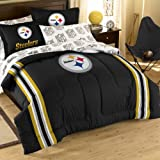 NFL Pittsburgh Steelers Bedding Set, Full at Amazon.com