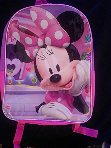 "Minnie Mouse Big Bow 16"" Backpack - 1"