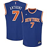 Carmelo Anthony New York Knicks Blue 2014-15 NBA Youth Revolution 30 Replica Road Jersey (Large 14-16)