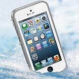 iPhone5 防水・防塵・防雪・耐衝撃のスーパーケース スーパースリム耐衝撃保護ケース アイフォン5用 ホワイト