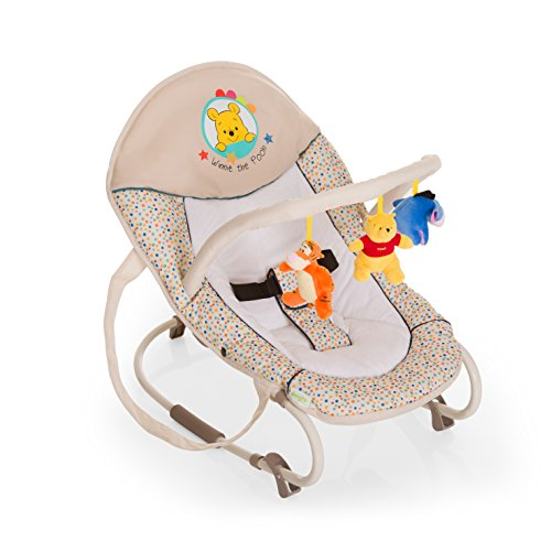 Hauck 633755 Bungee Deluxe Sdraietta per Neonati, Pooh Ready To Play