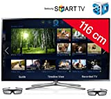 SAMSUNG UE46F6400 LED 3D Smart TV Television - black + 3 YEARS WARRANTY