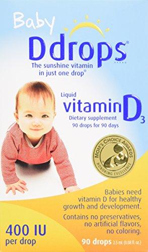 Ddrops Baby 400 IU, 90 drops 2.5mL