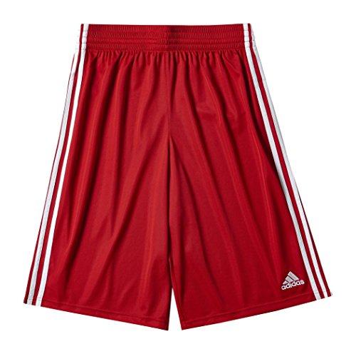 Adidas Commander SH Pantaloni, Rosso / Bianco, M