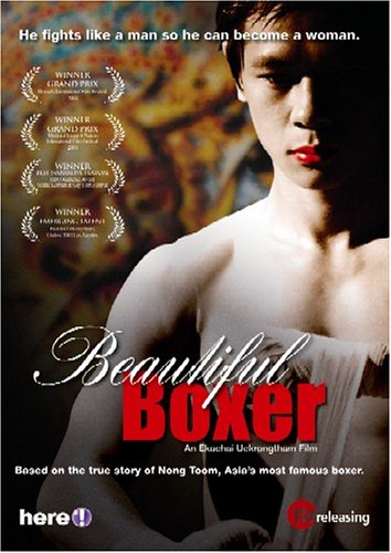 beautiful boxer Bio-pic of transgender muay thai boxer parinya charoenphol who pursued the sport to pay for her sex change operation.