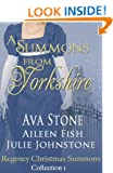 A Summons From Yorkshire (Regency Christmas Summons Book 1)