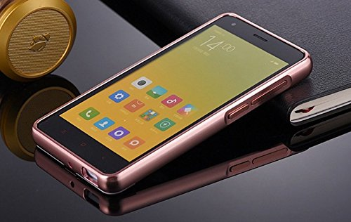 online store dc417 34801 Xiaomi Redmi 2/ 2S/ Prime Case, JMV Luxury Metal Bumper Rose Gold Acrylic  Mirror Back Cover Case For Xiaomi Redmi 2/ 2S/ Prime - (Rose Gold Mirror)