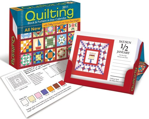 Quilting Block & Pattern-a-Day: 2011 Day-to-Day Calendar