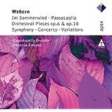 Webern : Im Sommerwind, Orchestral Works & Variations