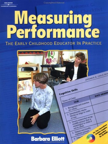 Measuring Performance: Early Childhood Educator In Practice front-871831