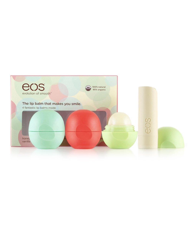 Eos Organic Lip Balm Multi-Pack - 4 Flavors