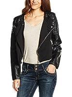 LTB Jeans Chaqueta Checka (Negro)