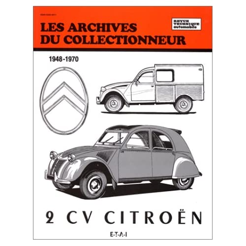 Revue technique citroen 2 cv avant 1960