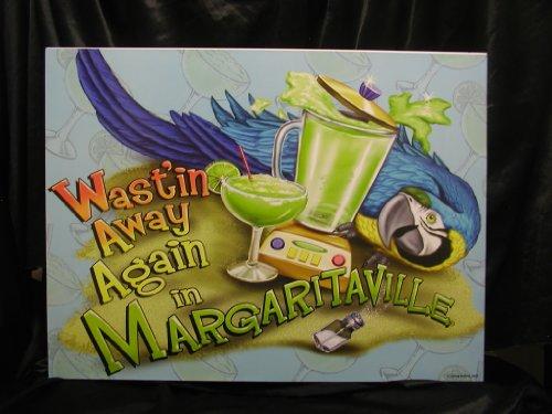 Cheap Jimmy Buffett Margaritaville Artwork WASTIN\' AWAY AGAIN IN ...