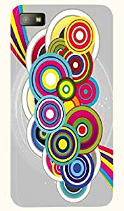 Incredible multicolor printed protective REBEL mobile back cover for Blackberry Z10 D.No.N-T-2628-BBZ10