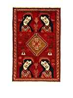 Kilim Carpets by Jalal Alfombra Gashgai (Rojo/Marrón)