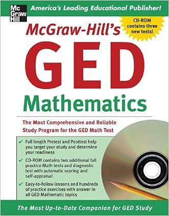 McGraw-Hill's GED Mathematics Book w/CD-ROM (Test-Taking Skills)