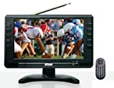Portable, SuperSonic SC499D 9 LCD Portable Digital TV with ATSC/NTSC Tuner and AC/DC Power (1 Each) Consumer Electronic Gadget Shop