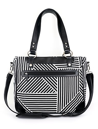 kailo-chic-camera-and-laptop-tote-in-black-and-white-lines