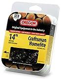 Oregon 14-Inch Semi Chisel Chain Saw Chain Fits Craftsman, Homelite S53
