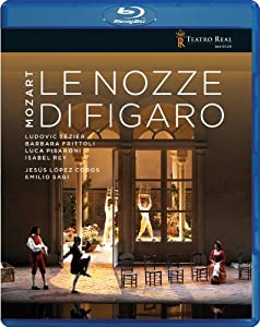 Mozart Le Nozze Di Figaro Teatro Real Tr97001bd Blu-ray 2011 from Teatro Real