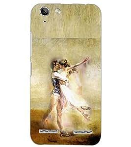 PrintDhaba LOVE COUPLE D-6633 Back Case Cover for LENOVO VIBE K5 (Multi-Coloured)