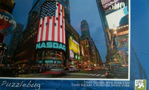 Puzzlebug 500 Piece New York City Times Square Puzzle - 1