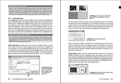 Adobe Premiere Pro CC: Schritt für Schritt zum perfekten Film – Videoschnitt, Effekte, Sound - 6